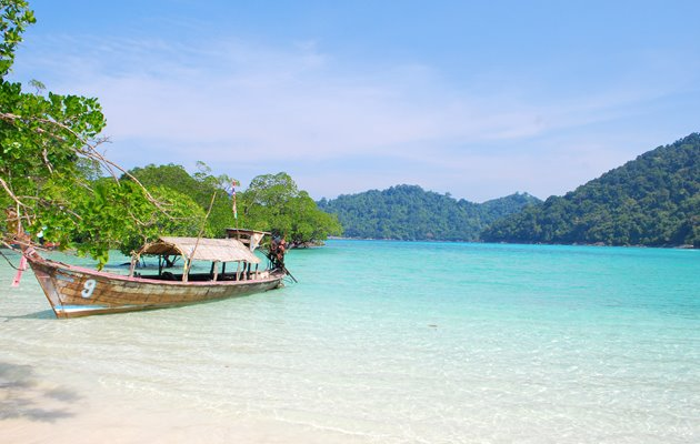 Andaman snorkel discovery, Thailand