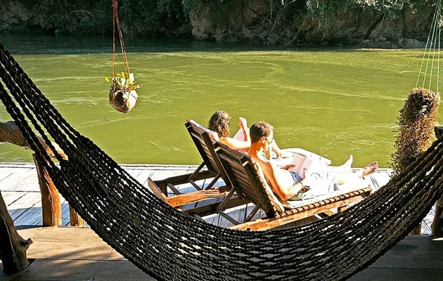 Jungle Raft, River Kwai