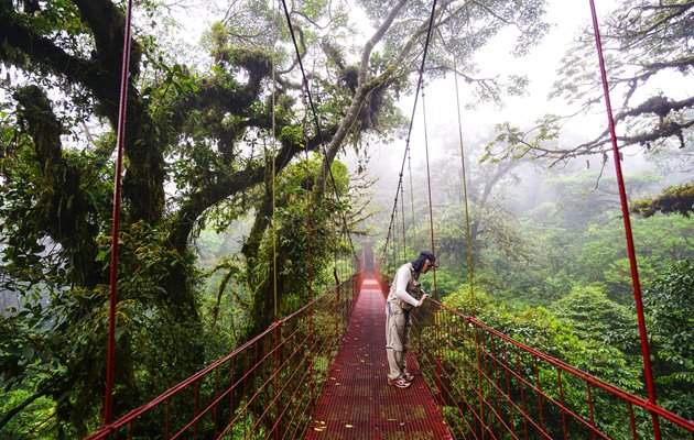 Oplev Monteverde Cloud Forest