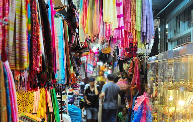 Chatuchak weekend marked i Bangkok